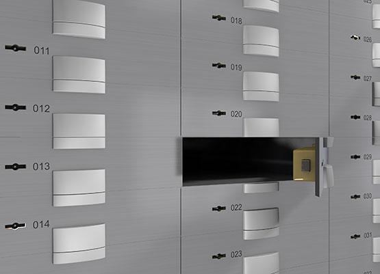 Schliessfach Stand-der-Technik Fach EFS-Sensoren Alarm