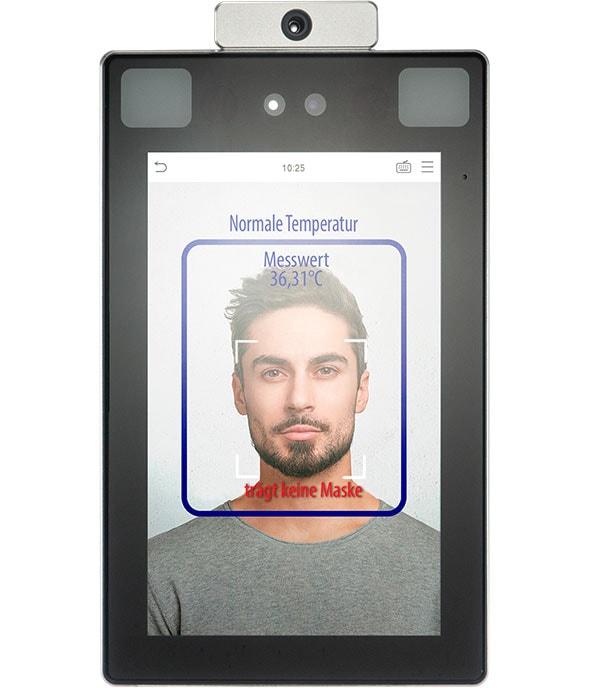 Corona Covid-19 Gesichtsmaske Erkennung Maske