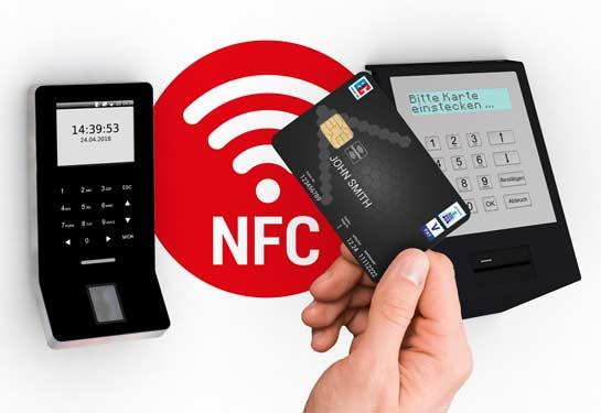 NFC RFID Desfire Schließfach