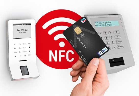 NFC RFID Defire Bankschließfach
