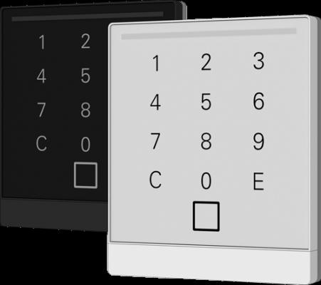 OSEntry Touch Zutrittskontrolle mit Transponder oder Karte