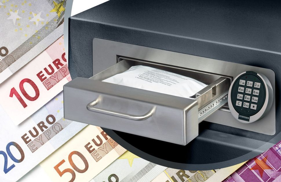 Einzahltresor Deposit