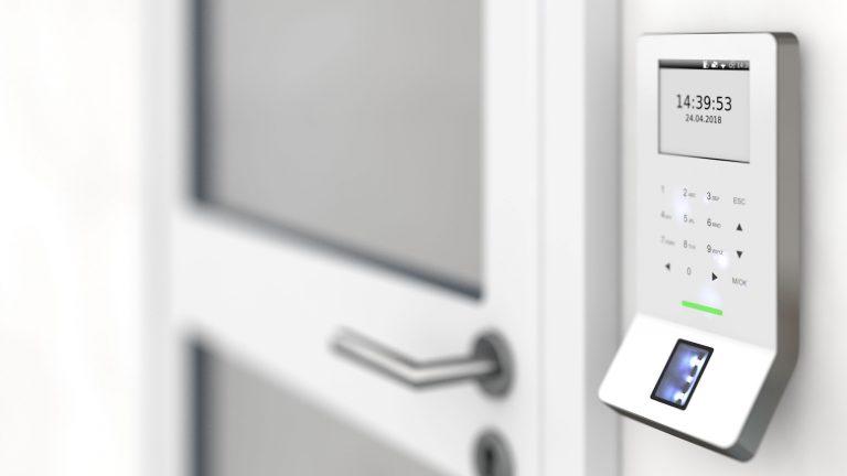 Zutrittsterminal Zutrittskontrolle Desfire Biometrie