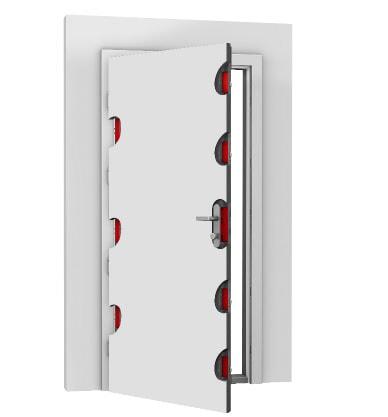 Sicherheitstür RC2 RC3 RC4 Tür Haustür Sicherheitsbeschlag