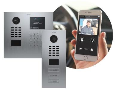 Doorbird Videoklingel ring smart Klingel Türklingel Handy